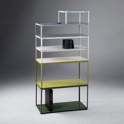 Crate Shelf [prototype] | Sistemas de estantería | Martin Born