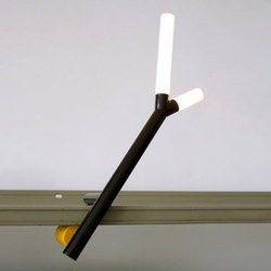 Clamp [prototype] | Cordless lights | Martin Born