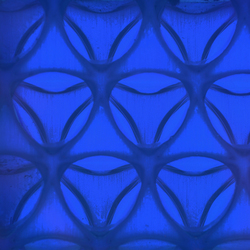 Clear-PEP® UV PC color dark blue | Synthetic slabs | Design Composite