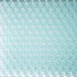 clear-PEP® UV satin glass green | Panneaux | Design Composite