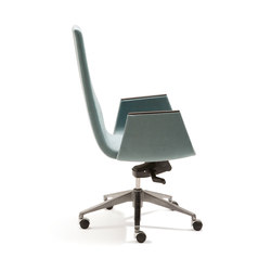 Clint Swivel chair | Sedie | Fora Form