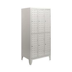 Multiplus Design | 2 Tiers 6 doors locker H1800 | Kleiderspinde / Schliessfächer | Dieffebi