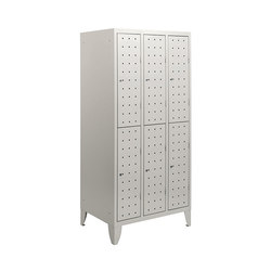 Multiplus Design | 2 Tiers 6 doors locker H1800 | Casiers / Vestiaires | Dieffebi