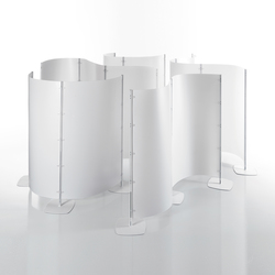 Arianna screen wall | Space dividers | Caimi Brevetti