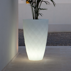 Vases Isla Llum | Outdoor floor-mounted lights | Vondom