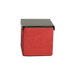 Click Upholstered cube | Pouf | die Collection