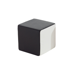 Click Upholstered cube | Pufs | die Collection