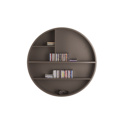 Stretch Circular Wall Shelf | Bibliothèques | die Collection
