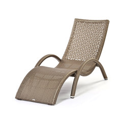 Altea weaving deckchair | Méridiennes de jardin | Varaschin