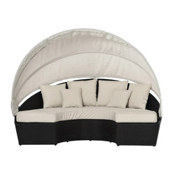 Arena outdoor semicurcular sofa | Garden sofas | Varaschin
