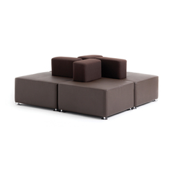 B-Free Lounge | Modular seating elements | Steelcase