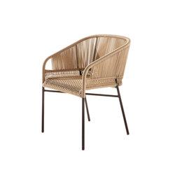 Cricket outdoor designer armchair   Restaurant chairs   Varaschin