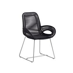 Loop terrace armchair | Garden chairs | Varaschin