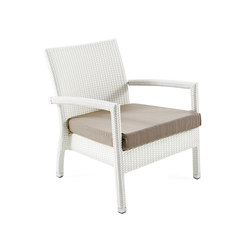 Lotus lounge chair | Garden armchairs | Varaschin
