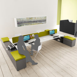 Yard | Desking systems | Martex