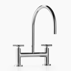 Tara. - Two-hole bridge mixer | Kitchen taps | Dornbracht
