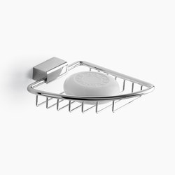 Tara. - Corner soap basket | Soap holders / dishes | Dornbracht