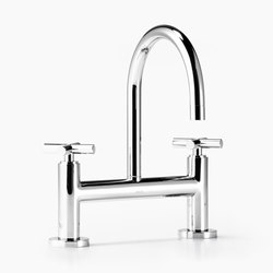 Tara. - Two-hole basin bridge mixer | Wash basin taps | Dornbracht