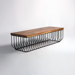 Wired Bench | Bancos de espera | Phase Design