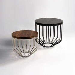 Wired Side Table / Little Side | Tavolini alti | Phase Design