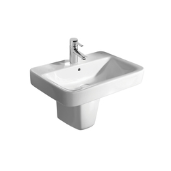 Senso Square | Semipedestal | Wash basins | ROCA