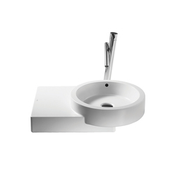 Wash basins-Wash basins-Post countertop basin-ROCA