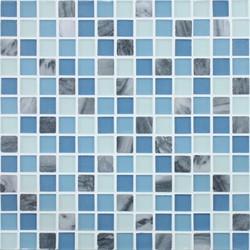 Glacier Mountain G0401 Cirque Lake | Glass mosaics | Giorbello