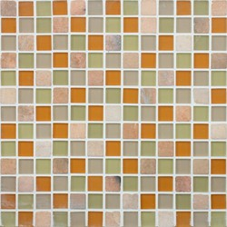 Glacier Mountain G0410 Mojave Sun | Glass mosaics | Giorbello