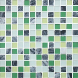 Glacier Mountain G0412 Forest Creek | Mosaici in vetro | Giorbello