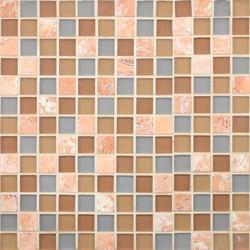 Glacier Mountain G0413 Terra Firma | Glass mosaics | Giorbello