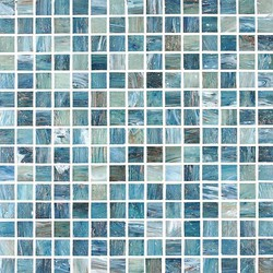 Tesserae Blends G2734 Caribbean Shore | Mosaïques verre | Giorbello