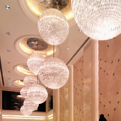 Shangri la Hotel Suzhou - 19424 | Lámparas de araña | Kalmar
