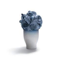 Naturofantastic - Large vase (blue) | Vases | Lladró