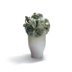 Naturofantastic - Large vase (green) | Vases | Lladró
