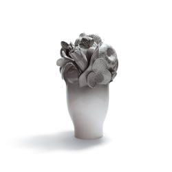 Naturofantastic - Large vase (grey)
