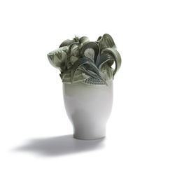 Naturofantastic - Small vase (green) | Vases | Lladró