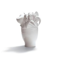 Naturofantastic - Small vase (white) | Vases | Lladró