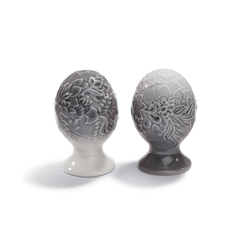 Naturofantastic - Salt & pepper shakers (grey) | Salt & pepper shakers | Lladró