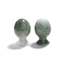 Naturofantastic - Salt & pepper shakers (green) | Sale & Pepe | Lladró