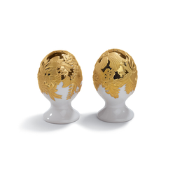 Naturofantastic - Salt & pepper shakers (golden) | Sale & Pepe | Lladró