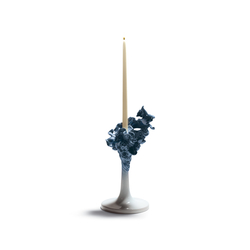 Naturofantastic - Single candleholder (blue) | Bougeoirs | Lladró