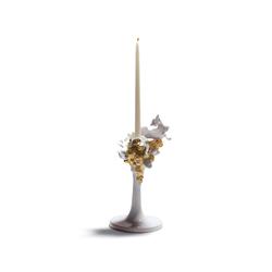 Naturofantastic - Single candleholder (golden) | Candlesticks / Candleholder | Lladró