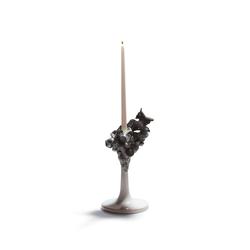 Naturofantastic - Single candleholder (grey) | Candlesticks / Candleholder | Lladró