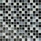GTX-1189 schwarz-weiss-grau Mix | Glas Mosaike | Hoppe
