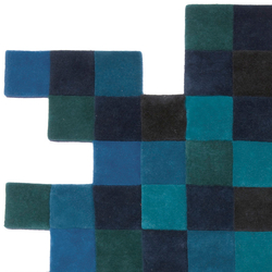 Do-Lo-Rez 1 Blues | Rugs / Designer rugs | Nanimarquina