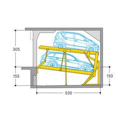 Parklift 340 | Aparcamientos mecánicos | Wöhr