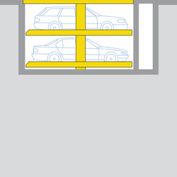 Sonderlösung Parklift 462 | Automatische Parksysteme | Wöhr