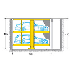 Parklift 462 | Aparcamientos mecánicos | Wöhr