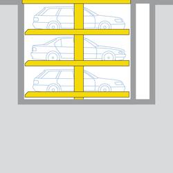 Sonderlösung Parklift 463 | Automatische Parksysteme | Wöhr