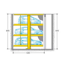 Parklift 463 | Aparcamientos mecánicos | Wöhr